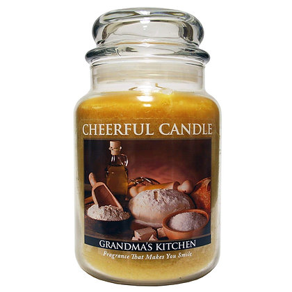 """Grandma""""s Kitchen 6 Ounce Glass Baby Jar Candle"""