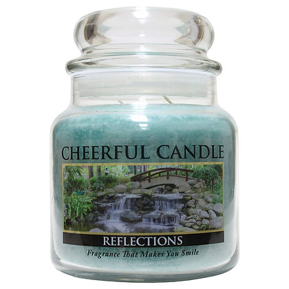 Reflections 16 Ounce Glass Jar Candle