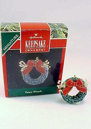Fancy Wreath Hallmark Miniature