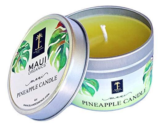 Maui Organics Maui Pineapple Candle 4 Ounce