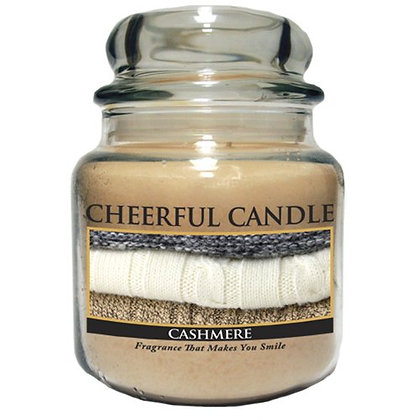 Cashmere 16 Ounce Glass Jar Candle