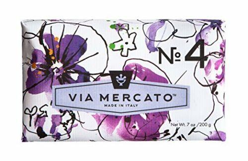 No. 4 - Violets, Magnolia, & Amber
