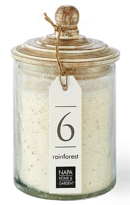 Rainforest Gray Oak Scented Soy Wax Candle