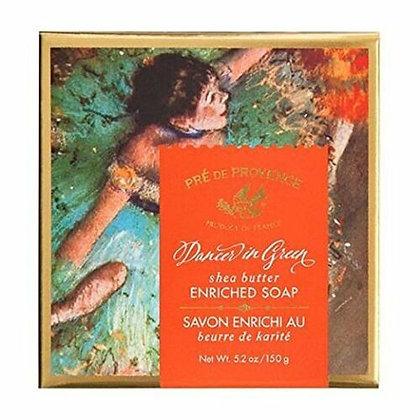 DANCER IN GREEN GIFT BOX SOAP 150G 5.2 OZ