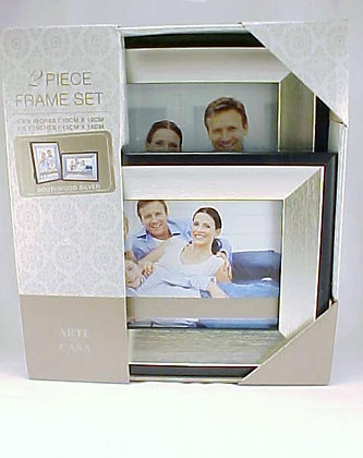 Photo Frame Set Of 2 Southwood Silver