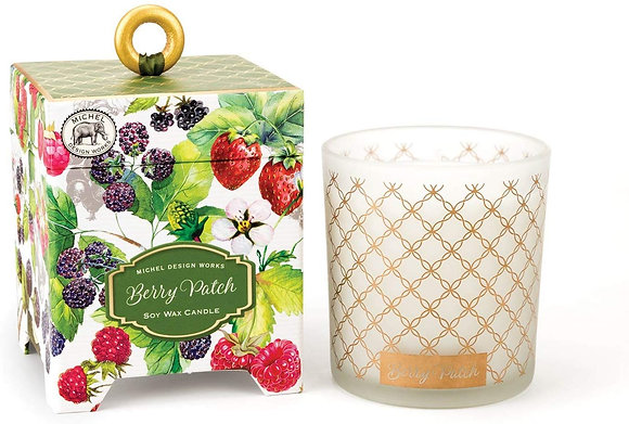 Berry Patch 14 Ounce Keepsake Box Candle