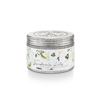 Gardenia Lily 4oz Soy Wax Candle Tin