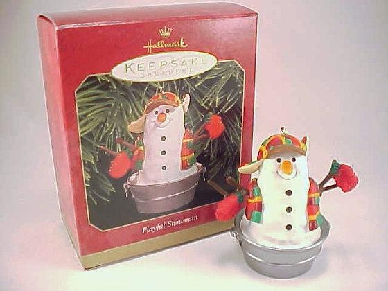 Playful Snowman Hallmark