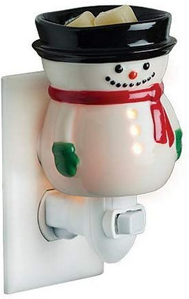Snowman Plug In Melter