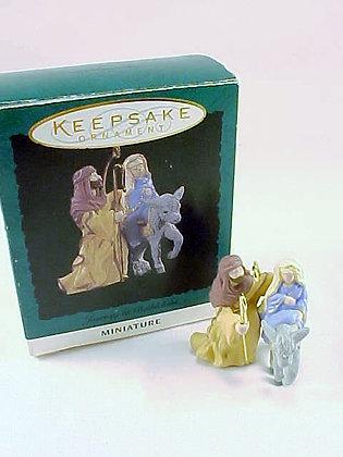 Journey To Bethlehem Hallmark Miniature