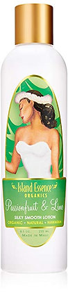 Island Essence Passionfruit Lime Natural Organic Body Lotion  8.5 Oz