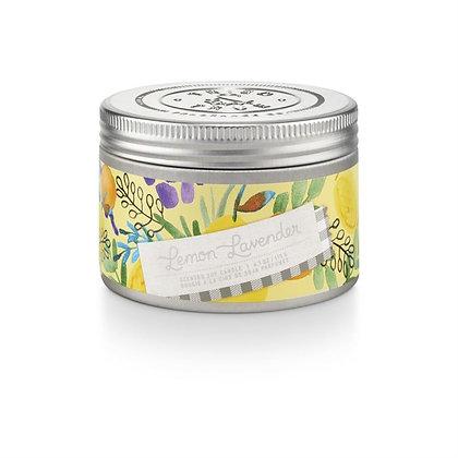 Lemon Lavender 4oz Soy Wax Candle Tin