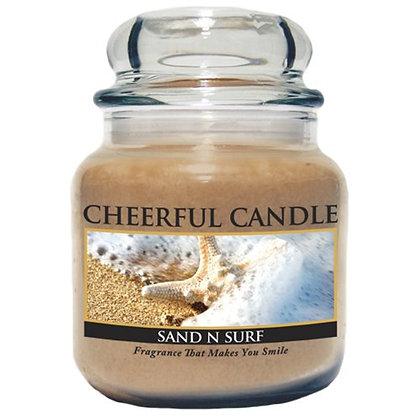 Sand N Surf 16 Ounce Glass Jar Candle