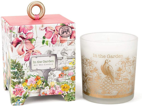 In The Garden 14 Ounce Keepsake Box Candle