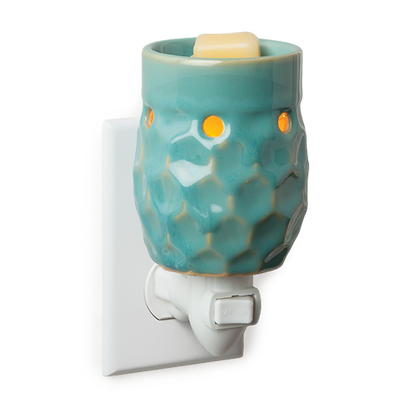 Honeycomb Turquoise Plug In Melter