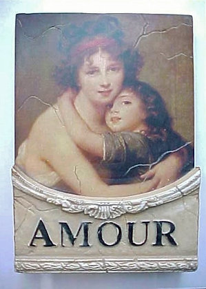 AMOUR WALL PLAQUE