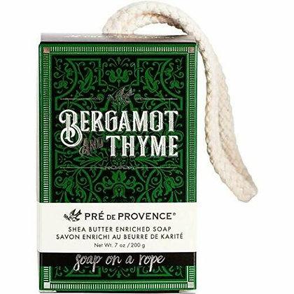 Mens Bergamot & Thyme Soap On A Rope  200g/7oz