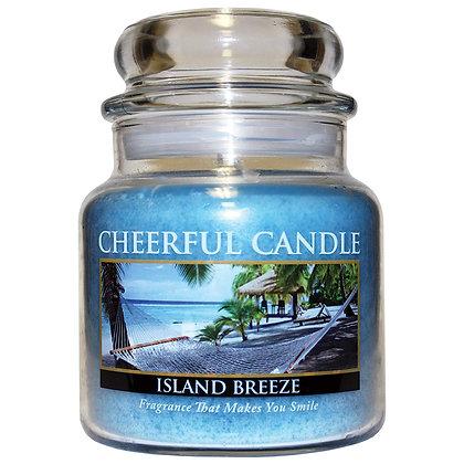 Island Breeze 16 Ounce Glass Jar Candle