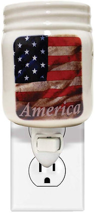 American Flag Plug In Melter