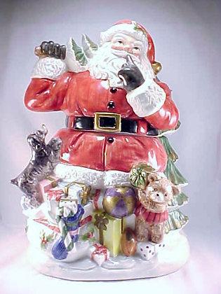 Fitz And Floyd Santa Cookie Jar Omnibus