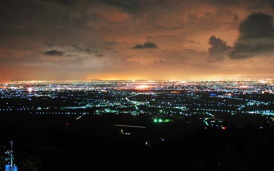 泰武鄉夜景