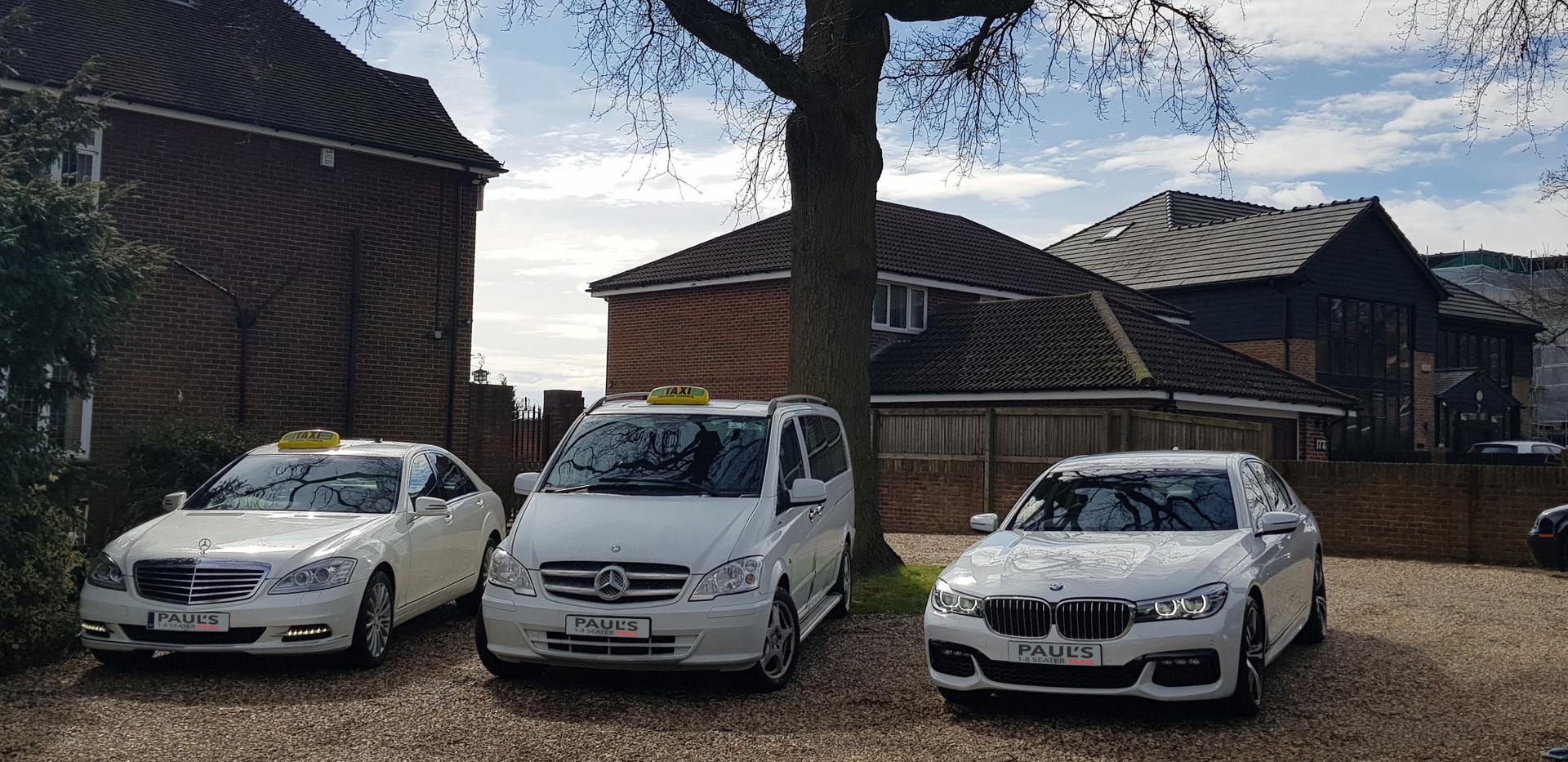 Paul's taxi fleet