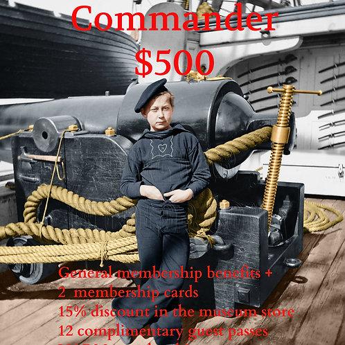 Commander Museum Membership