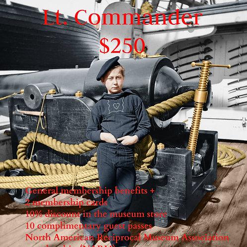 Lt. Commander Museum Membership