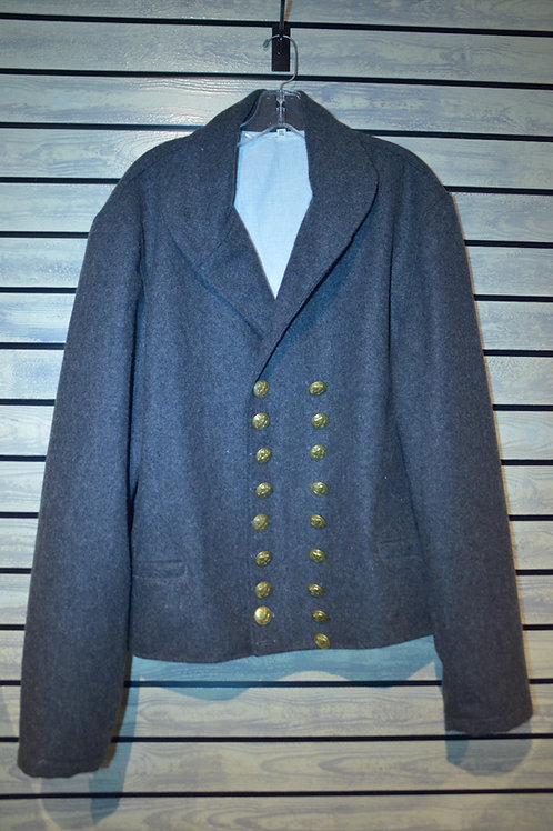 Wool Round Jacket