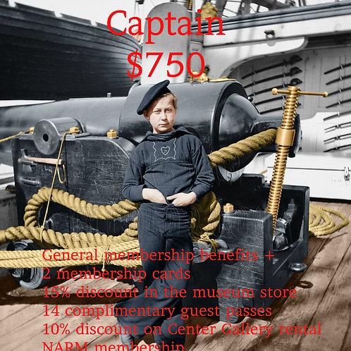 Captain Museum Membership