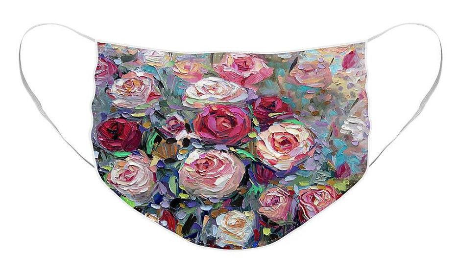 """Roses Bloom"" Face Mask"
