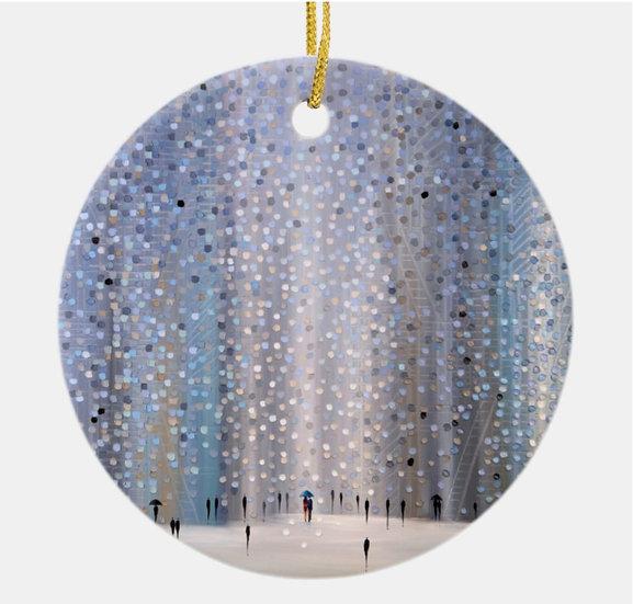 Rainy Day Holiday Ornament