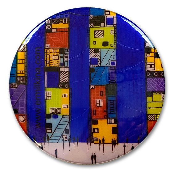 City 3 Art Button