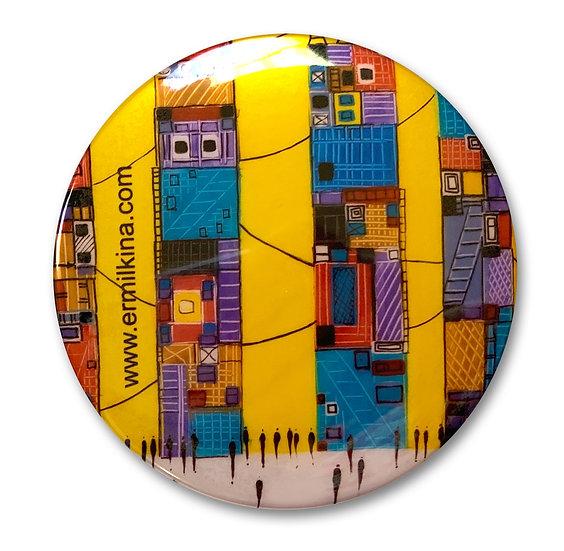 City 4 Art Button