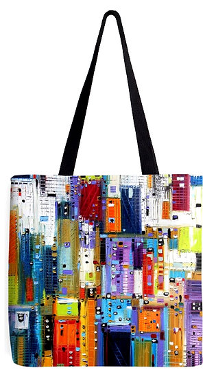 """""""Color Obsession"""" Tote Bag"""