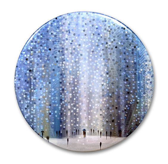Rainy Day Art Button