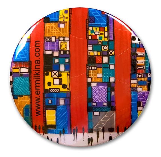 City 2 Art Button