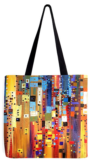 """""""Downtown"""" Tote Bag"""