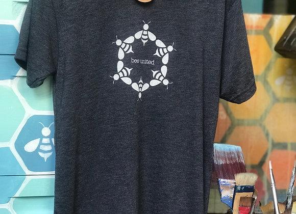 """Bee united"" T Shirt- Mens (tri-blend)"