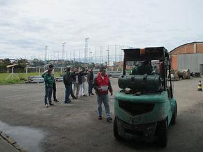 Treinamentos Operador de empilhadeiras