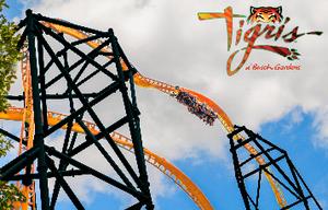 Tigris - a nova montanha russa do Busch Gardens