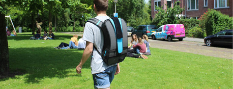 A social backpack for shy students