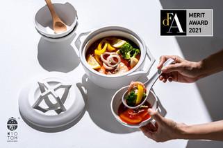 KYOTOH DONABE ・キョートー ドナベアジアデザイン賞 DFA(Design For Asia) を受賞。iFデザイン賞 ・中国デザイン賞に続き、世界の権威あるデザイン賞 3冠を達成。