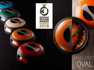 Anaori Carbon POT 『OVAL』が国際デザイン賞 GERMAN DESIGN AWARD 2018 WINNERを受賞!