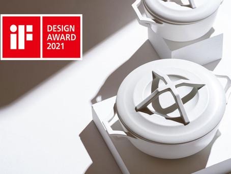"""""""デザイン界のオスカー""""と称されるドイツ・世界三大デザイン賞の一画「iF デザイン賞 2021」 を受賞!KYOTOH DONABEシリーズ"""