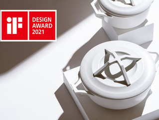 "KYOTOH DONABE "" iF DESIGN AWARD 2021""を受賞"