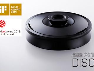 世界三大デザイン賞の最高賞をダブル受賞の快挙達成!「iF Design Award 2019」最優秀賞 「iF GOLD Award] 「 red dot award 2019」最優秀賞「best o