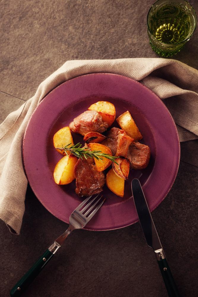 豚肉とポテトのローズマリー風味