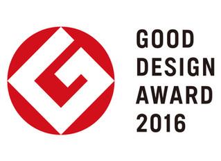 VOL.が『2016年度グッドデザイン賞』を受賞!