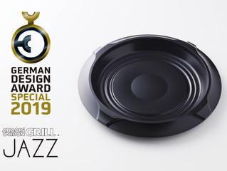 Anaori Carbon GRILL 『JAZZ』が国際デザイン賞 GERMAN DESIGN AWARD 2019 SPECIAL(特別賞)を受賞し二年連続受賞達成!